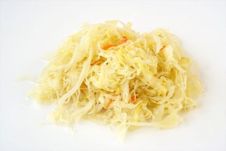Beneficios de la col fermentada