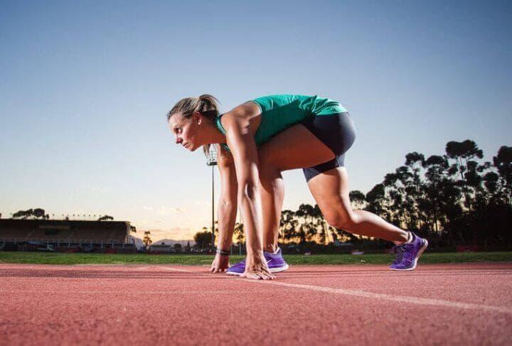 Mito de la triple extensión en el sprint