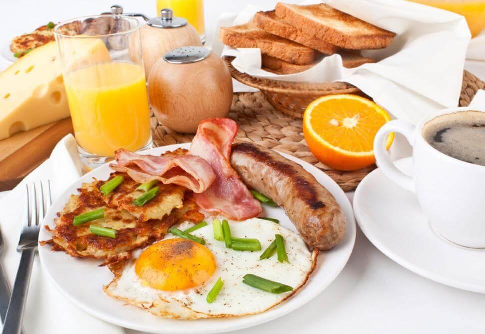 Desayuno antes de entrenar futbol