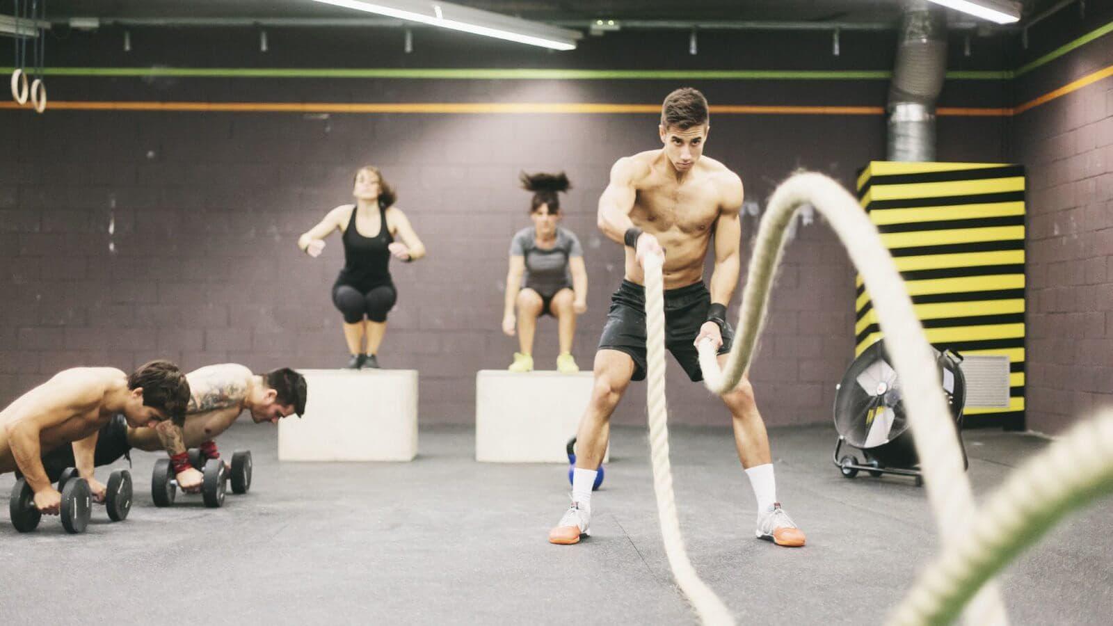 Circuito Quema Grasa Gimnasio : La mejor rutina con pesas para perder grasa entrenamiento