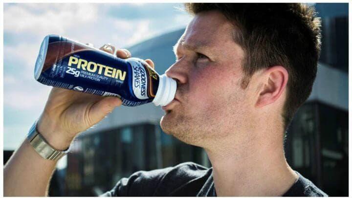 ¿Son saludables las bebidas proteicas?