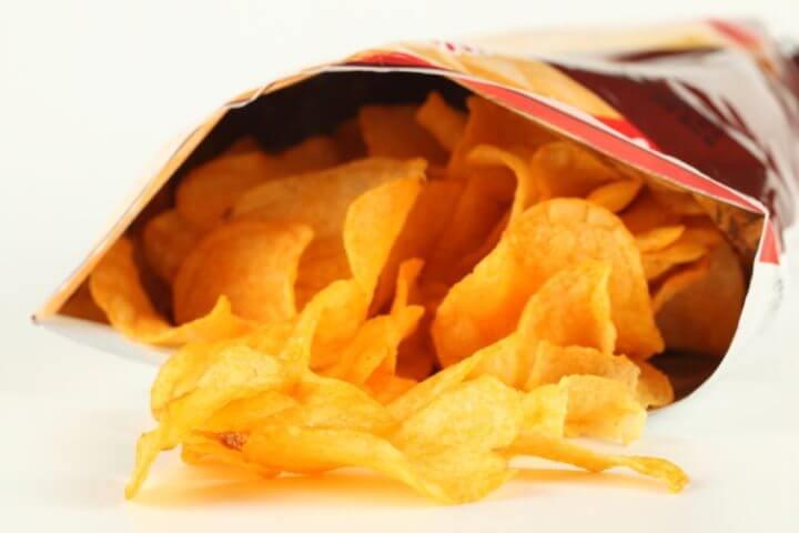 Evitar comprar alimentos con empaques para conseguir adelgazar