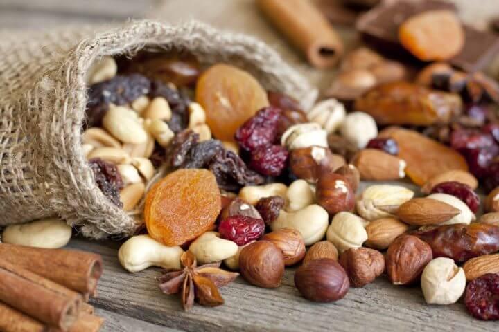 Los frutos secos pueden aumentar la longevidad