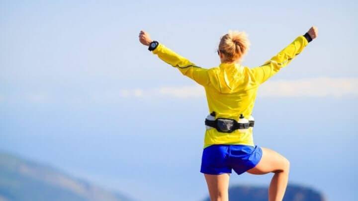 Cómo completar una carrera de trail running