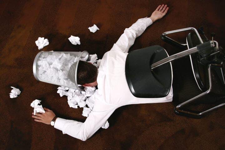 Inconvenientes de tener un trabajo sedentario