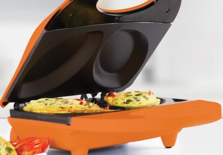 Preparar desayunos con el tostador para tortillas