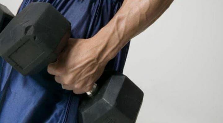 Características del entrenamiento con pesas a los 40 años
