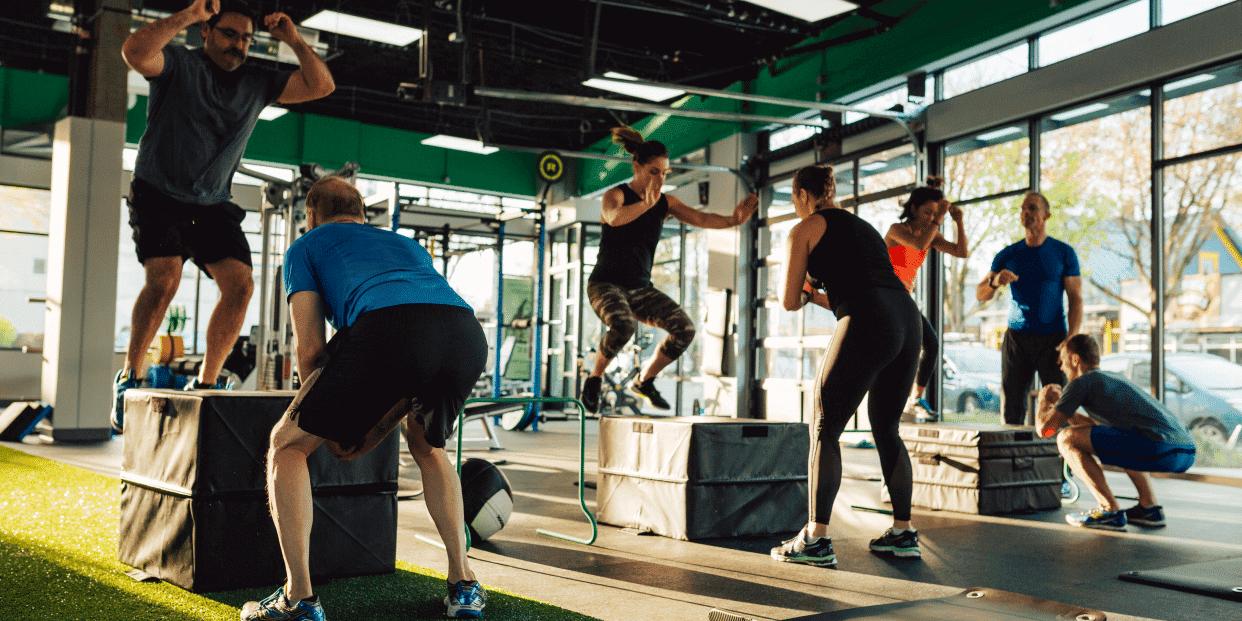 Circuito Quema Grasa Gimnasio : Circuitos hiit innovadores para perder grasa entrenamiento