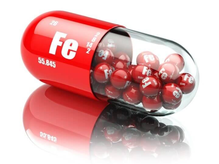 Efectos secundarios de un consumo excesivo de hierro