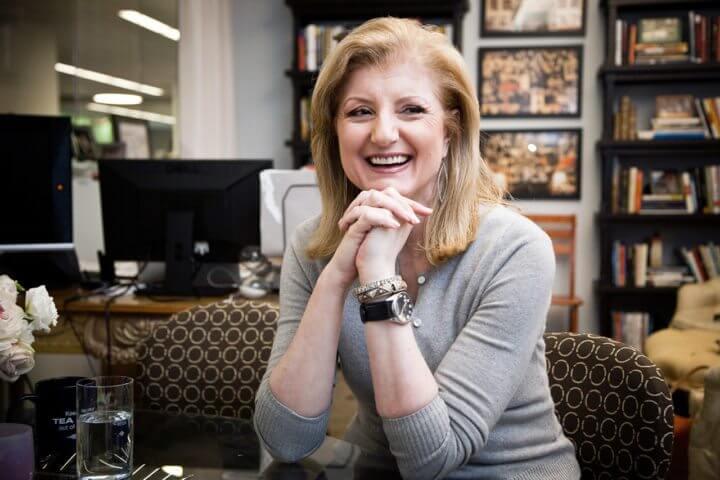 Claves de Arianna Huffington para el éxito