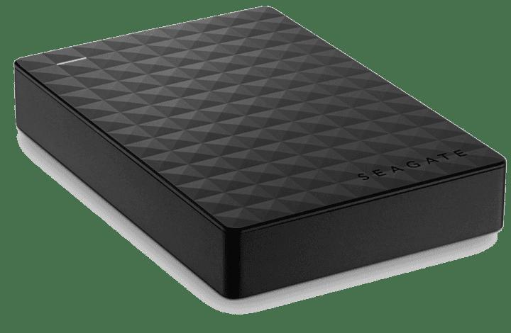 Disco duro portatil como accesorio de escritorio