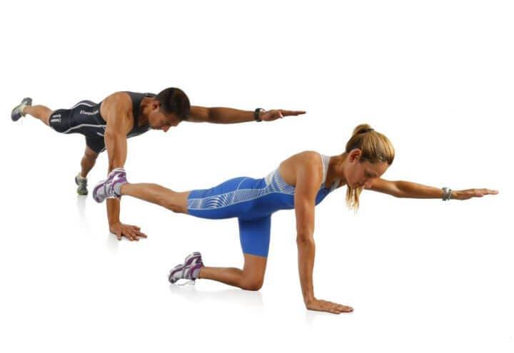 Levantar pesas no ayudará a ganar una mayor estabilidad muscular