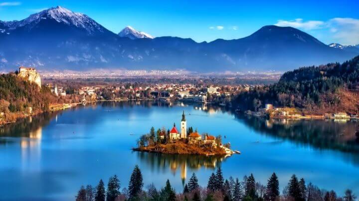 Conocer los lugares más famosos de Eslovenia