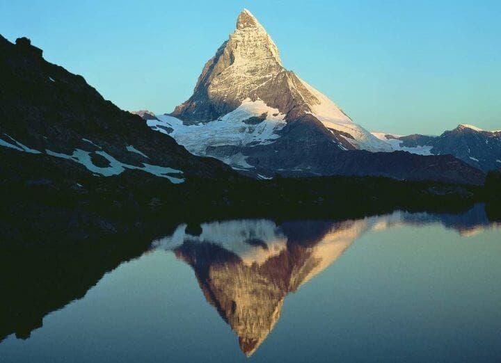 La belleza de los Alpes Suizos en Europa