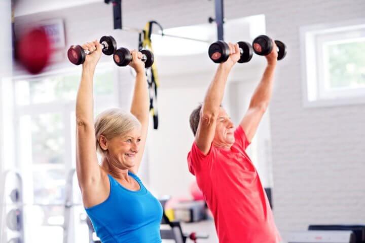 Las pesas ayudan a controlar la diabetes