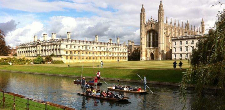 Hacer turismo al estilo dinámico de Cambridge
