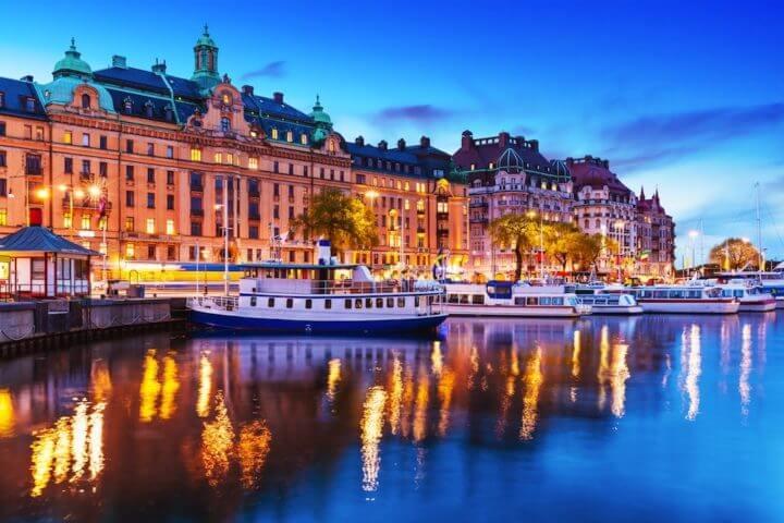 El ritmo de vida vibrante en Estocolmo