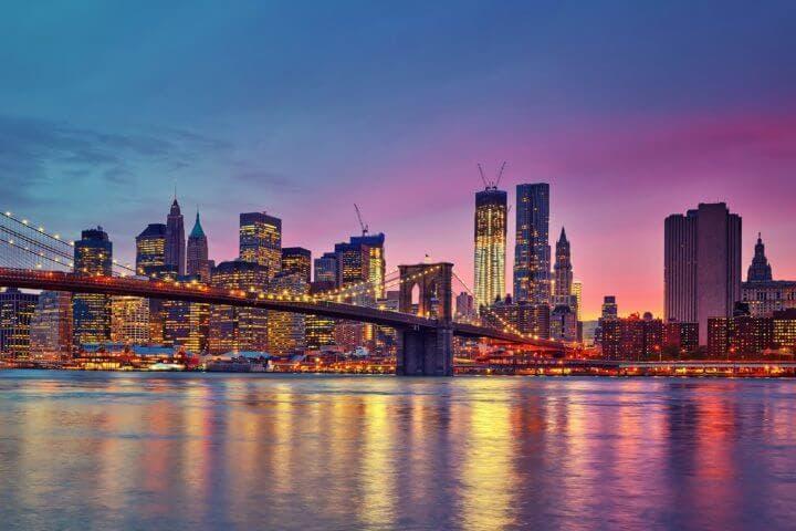 Los rascacielos de Nueva York