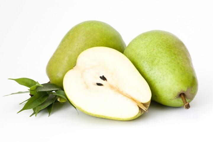 La fruta poco madura es más baja en carbohidratos