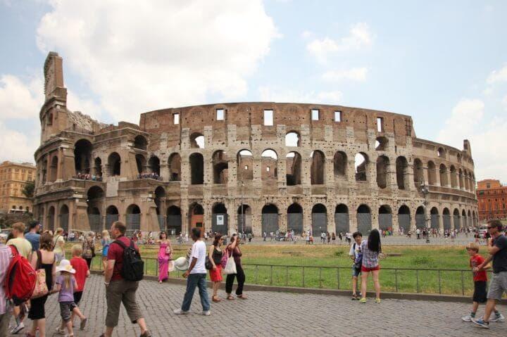 Estafas a turistas en Roma