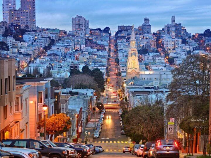 Los rascacielos de la ciudad de San Francisco