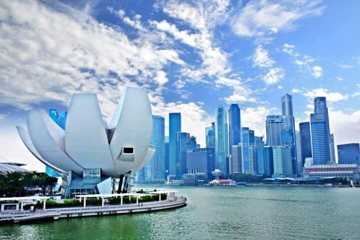 Los edificios más grandes de la ciudad de Singapur
