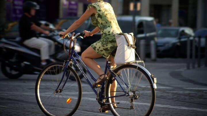 Usar la bicicleta reduce el riesgo de contaminación