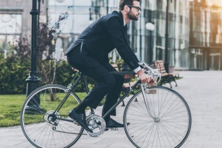 Beneficios de ir en bicicleta a tu trabajo