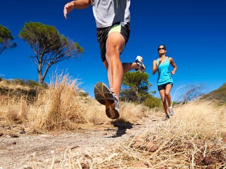 Calentar antes de practicar trail running