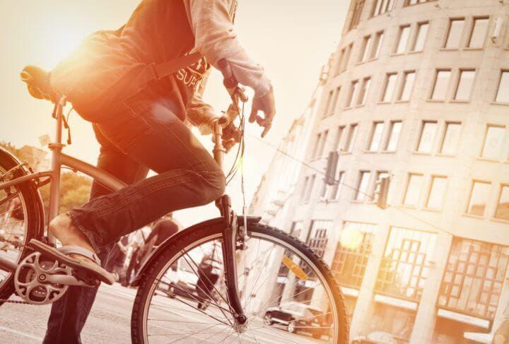 Beneficios de utilizar la bicicleta en la ciudad