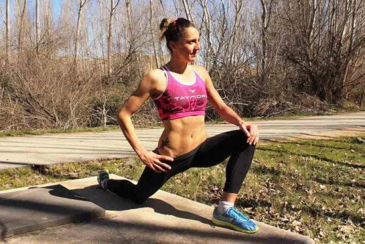 Serie de ejercicios de calentamiento antes de correr