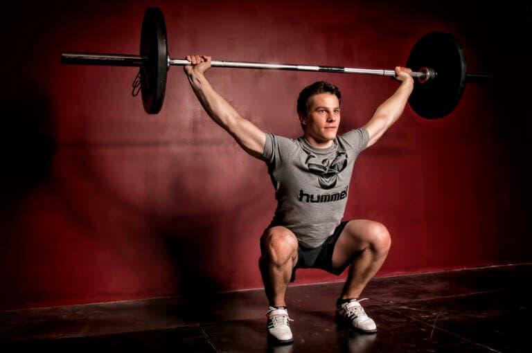 ¿cuánto peso deberías manejar en tus levantamientos olímpicos?