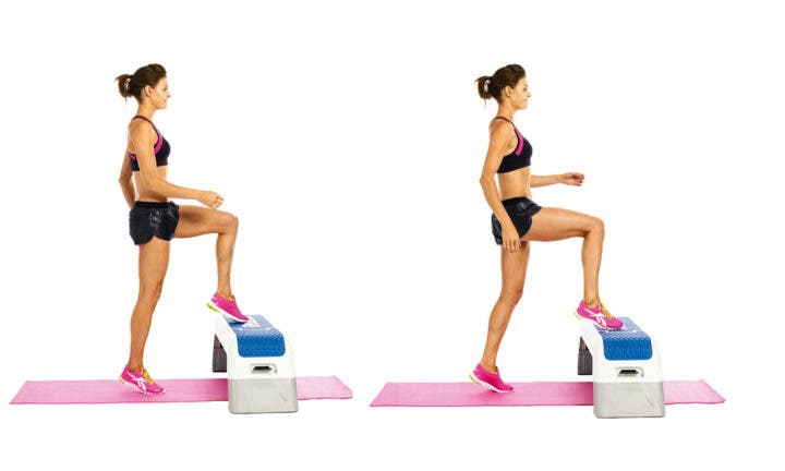Ejercicios unilaterales para entrenar el equilibrio