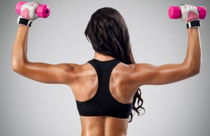 Lo pasos para ganar músculo en la mujer