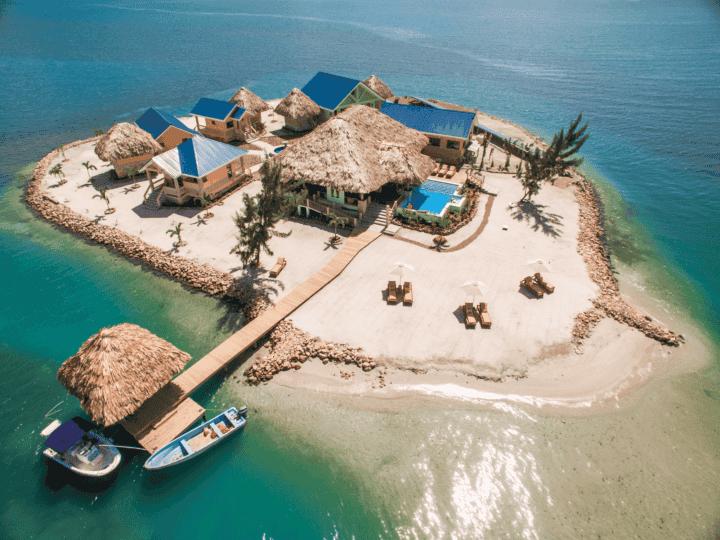 Las mejores islas privadas para alquilar en Belice