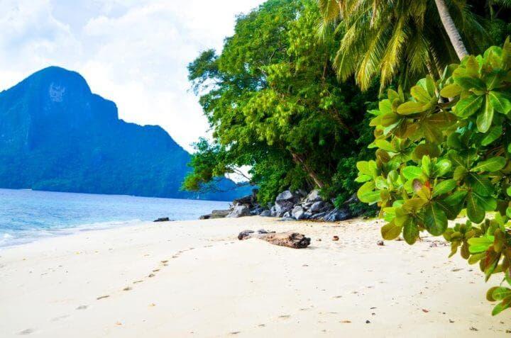 Lujos en las islas privadas filipinas