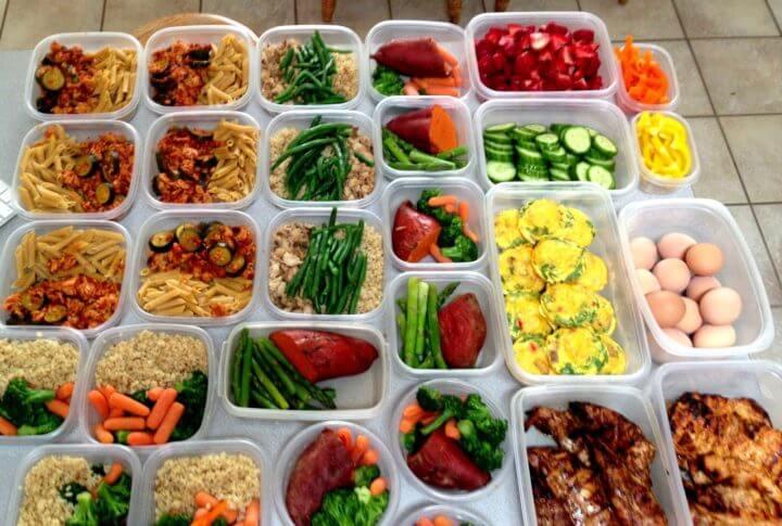 Organizar tus comidas la noche anterior para perder peso