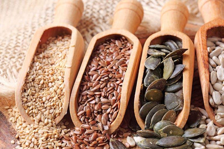 5 tipos de semillas saludables que debes ingerir