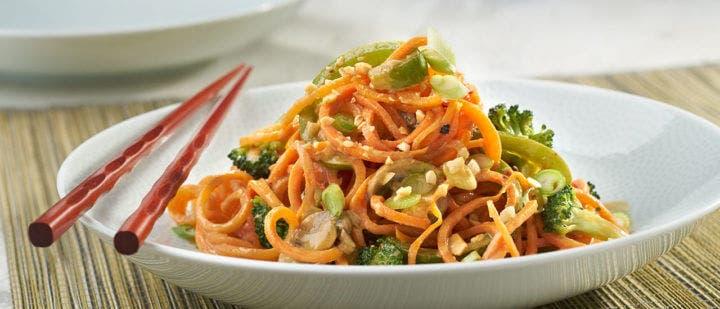 Tallarines de zanahoria ideales para cuidar tu hígado