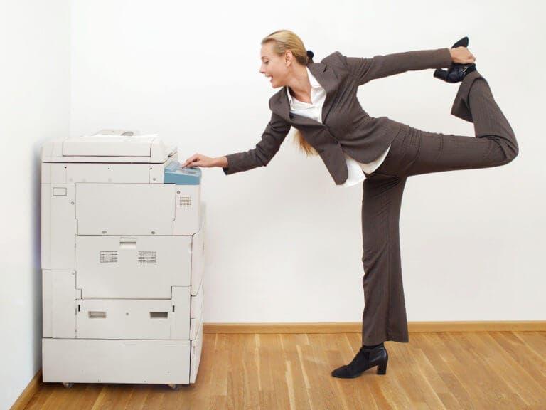 Incorpora el yoga en tu rutina laboral