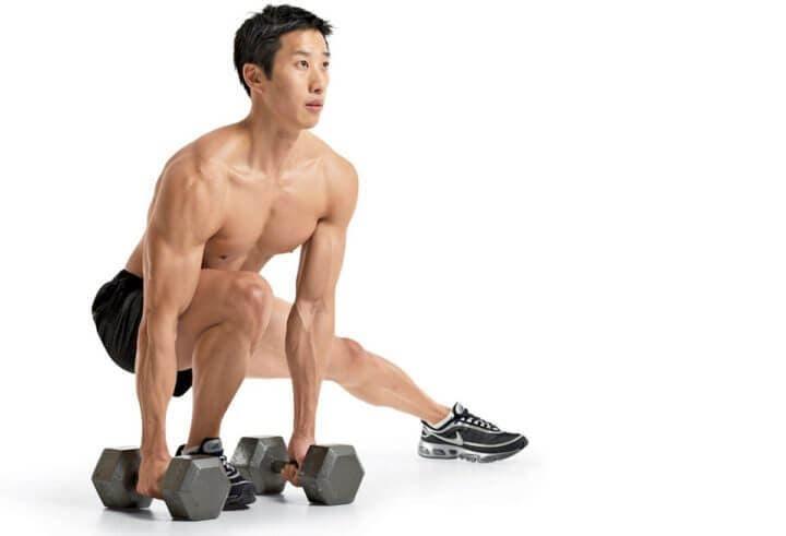 Ejercicios laterales para fortalecer las rodillas en ciclismo