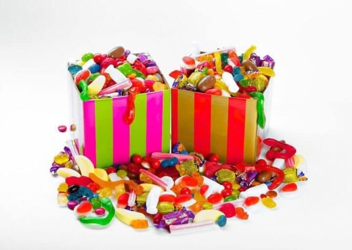 Los caramelos inflaman nuestro organismo