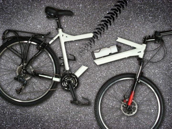 Los ciclistas sufren peores daños que los conductores en accidentes