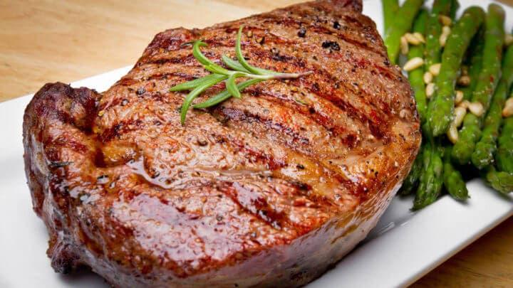 El filete de carne no es bueno si estás enfermo