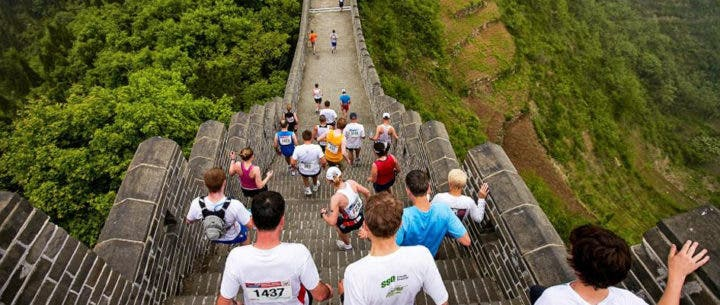 Ccorrer la Maratón de la Gran Muralla