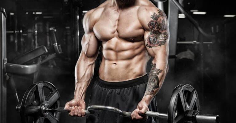 Cómo ganar músculo siendo alto