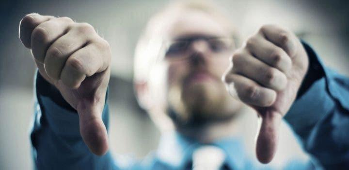 La negatividad puede dañar tu carrera profesional
