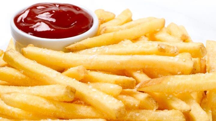 Las patatas fritas inflaman el organismo