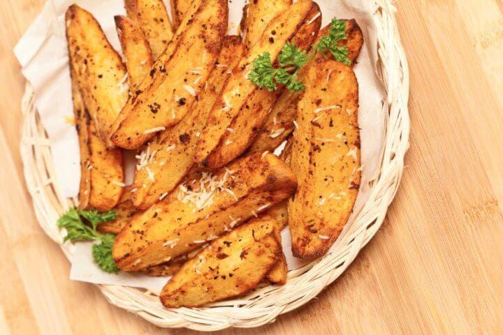 Las patatas dulces horneadas son más saludables