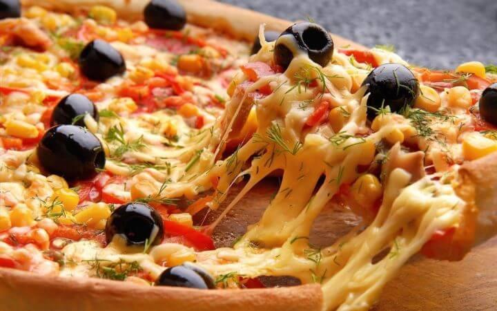 La pizza causa estrés oxidativo en el organismo